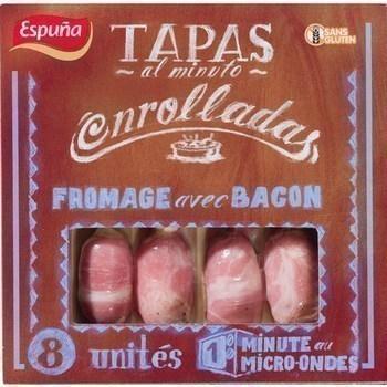 Enrolladas fromage avec bacon x8 - Charcuterie Traiteur - Promocash Dijon