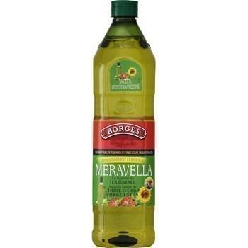 Mélange d'huile de tournesol et d'huile d'olive vierge extra 1 l - Epicerie Salée - Promocash Millau