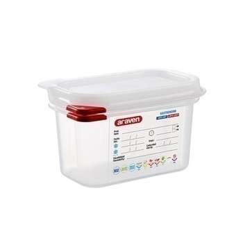 Boîte hermétique GN transparente 1L R3021 - la pièce - Bazar - Promocash Chatellerault