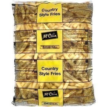 Frites Original Country Style 2,5 kg - Surgelés - Promocash Béthune