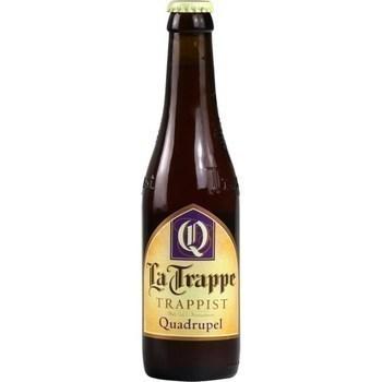 Bière Quadrupel Trappist 33 cl - Brasserie - Promocash Auch