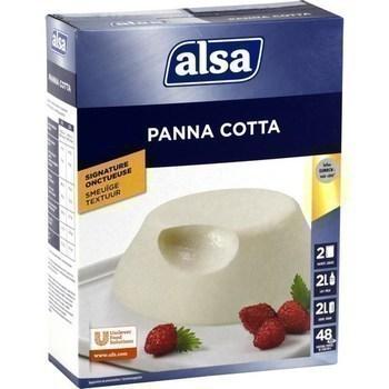 Panna Cotta 2x260 g - Epicerie Sucrée - Promocash AVIGNON
